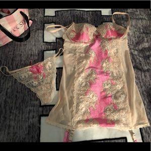 Victoria's Secret garter lingerie